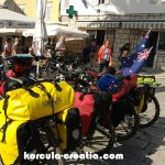 Cycling in Korcula Island