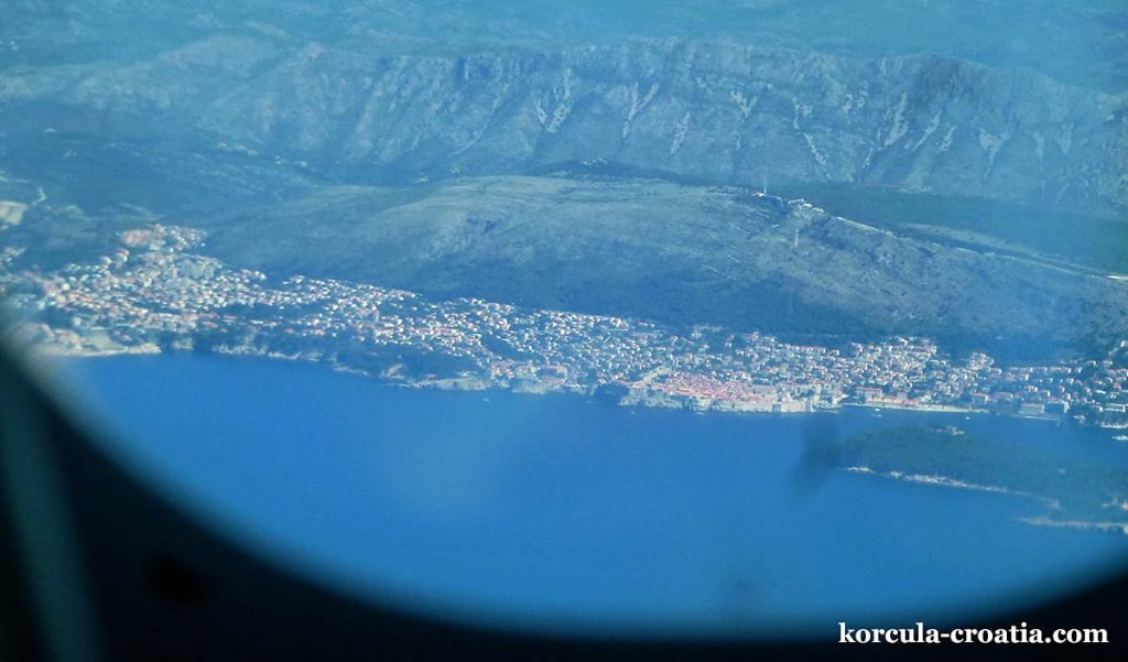 flying to dubrovnik airport