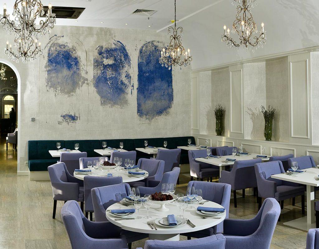 restaurant with regular and à la carte offer