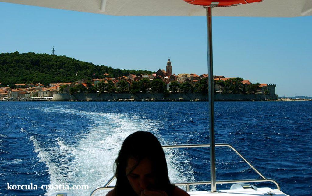 Getting to Skoji, Korcula archipelago