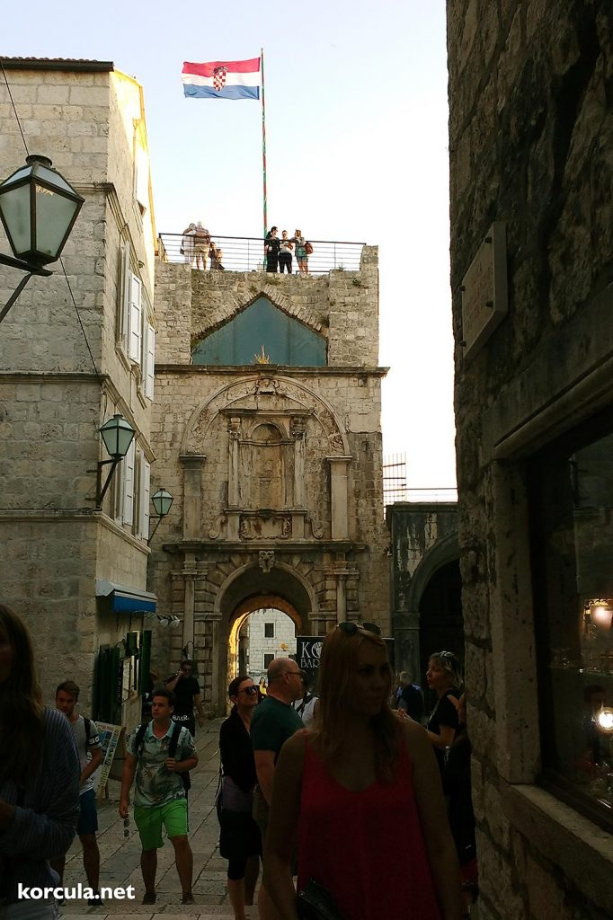 Sightseeing in Korcula Old Town