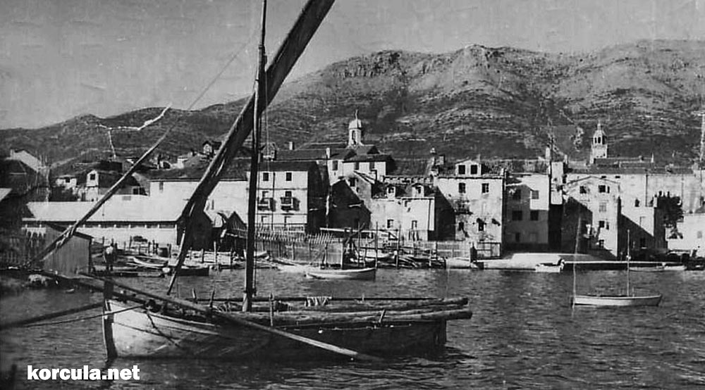 Shipyard in Korcula