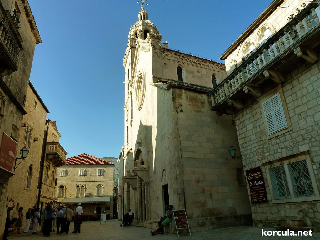 St Mark's Cathedral in Korcula