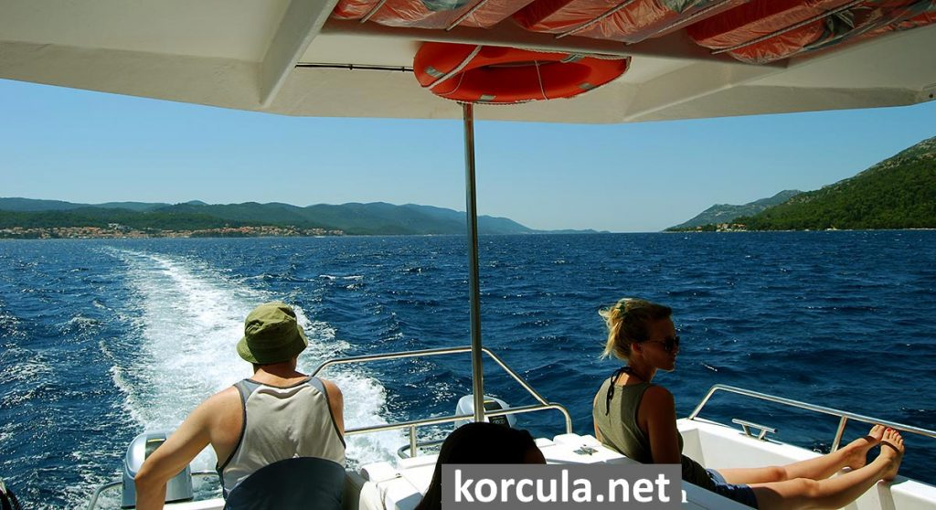 Korcula Water Taxi to Orebic